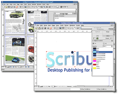 Scribus Screenshot